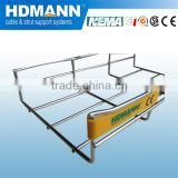 Welding electrical galvanised wire mesh cable tray with China oem supplier