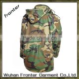 High Quality Waterproof Winter Military Tactical Softshell Jacket Men Woodland Jackets