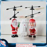 Christmas toys 2015 small rc helicopter inductive control flying Santa Claus new toys for christmas 2015
