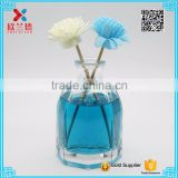 high quality 100ml octagonal shape diffuser glass bottle with glass ball corks                                                                                                         Supplier's Choice