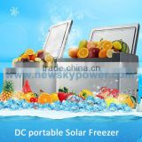 DC 12V BR60C4 portable car fridge freezer new design mini fridge solar powered portable refrigerator