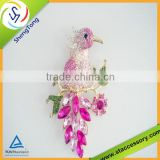 ew Design Bird Shape Costume Rhinestone Brooches Wholesale In Factory