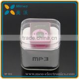 Colorful chip Mp3 music player , mini Mp3 player with factory price
