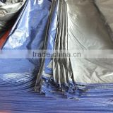 swimming pool fabric tarp PP sliver/blue plastic sheet mesh triangle plastic waterproof antioxidant anti-aging manufacture sell