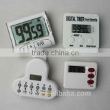 Digital Kitchen Timer ,Countdown / Count Up Alarm, Large LCD Display, Magnetic Back & Retractable Stand                                                                         Quality Choice