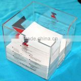 HOT sell promotion acrylic memo holder /notepaper holder