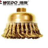 Anti spark tools; High quality Non spark/ Explosion-proof knot wire cup brush; China Manufacturer; OEM service; Die forging