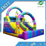 Hot Sale inflatable slide,inflatable bouncer slide combo,banzai inflatable water slide