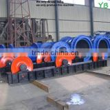 professional best design cement & concrete electric pipe pole making machine in china