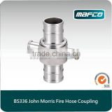 BS336 john morris fire hose aluminum couplings
