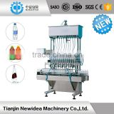 ND-Z-12 Price linear gravity filling machine for skincare cosmetics,coffee,milk, medical