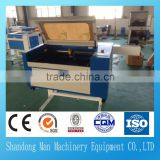 soft textile fabric laser cutting machine/ wool felt laser cutting machine 6090