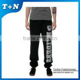 2015 oem fashion hip hop slim fit joggers blank pants zipper
