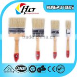 2015 new type wood handle bristles artist paint brush set 1'',2'',3'',4'' four size