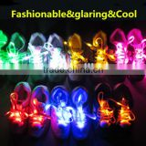 2016 Fashionable LED light up shoe laces colorful shining dancing shoe laces for wholesale
