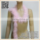 Dance Party Dress Lace Decoration 20g Bleached Pink Fluffy Feather Boa
