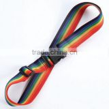 rainbow color luggage belt luggage strap