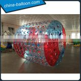 Popular summer PVC water roller balloon/2.4*2.2*1.8m water walking balloon for kids outdoor games