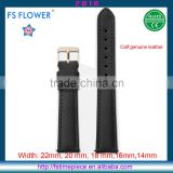 FS FLOWER - China Factory Manufacturer Casual Leather Watches Strap Width 16mm, 18mm 20mm, 22mm