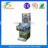 Hot sale indoor and outdoor coin operated game pinball machine for kids using coin or token