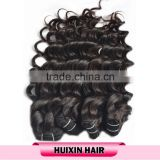 Free sample Most popular large demands 100% remy human hair cheap price layered stock halo hair extension on sale