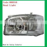 toyota spare parts OEM hiace headlamps toyota hiace headlights #000316 headlamp for hiace L/R hiace head lights