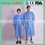 Green or blue Surgical Gown with EO sterilization,S,M,L,XL