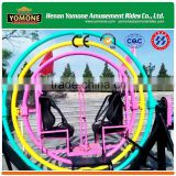 Interesting theme park equipment of amusement human gyroscope rides for sale