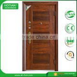 Professional Powder Coated Bullet Proof Steel Security Door, Metal Door, Iron Entrance Door