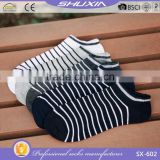 SX 602 more than handred design cotton man sport sock fashion ankle boat socks men and woman custom sock factory