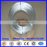 5 guage to 20 guage hot-dipped galvanized iron wire for wire mesh netting and construction