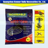 122 mm nonbreakale smokeless black mosquito coil