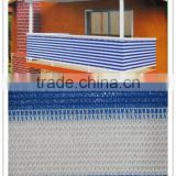 Hot sale 100% new HDPE UV resistant balcony/window safety net, HDPE shade fence netting privacy screen,aluminet schatten netto