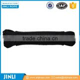 8 mm Black color Nylon diamond braided rope /cord for sale