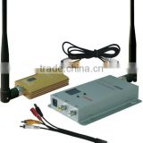 Long Range FPV 1.3 GHz 1500mW 1.2GHz Tx Rx 8 Channels Wireless Audio Video AV CCTV Transmitter Receiver Set