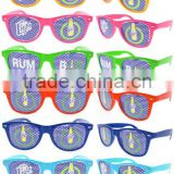 Cheap promotion pinhole sticker sunglasses