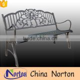 Pop craft angel decorative metal outdoor bench for sale NTIRH-005Y