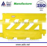 high quality best price plastic road safety barrier L1600xH900xTW120xBW480mm
