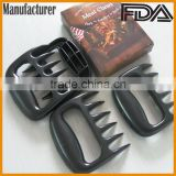 high quality food grade nylon BBQ Smoker& grill Barbecued meat claws pulled Pork Meat Shredder
