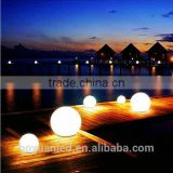 Wonderful glowing outdoor swimming pool and garden used rechargeable colorful waterproof led light up ball