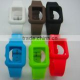 Hot Sale Colorful Silicone Ipod Nano Watchband/Silicone Watchband LS Eplus