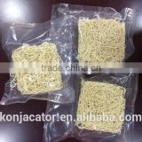 Konnyaku vegan instant noodles dried shirataki konjac pasta made from natural glucomannan powder