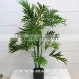 China manufacturers artificial plastic phoenix palm tree for sale
