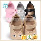 Little blue Cat pink/Black sneaker trainer wholesale funny soft sole PVC infant baby shoes