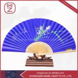 Chinese Personalized Bamboo Paper Hand Held Folding Fans