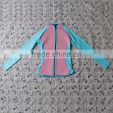 Factory wholesale top quality neoprene shirt , woman diving sex surf wetsuits M5081302