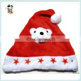 Red Flashing Star Light Up Xmas Party Santa Christmas Hats HPC-1083