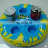 inflatable 5 drink cans holder