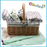 BABYs Soft Fleece blanket with popular Print PUL