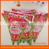 cheap decorative Christmas bunting